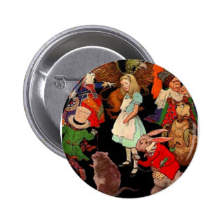 Alice in Wonderland Newell 6 Cm Round Badge