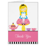 Alice in Wonderland Note Card