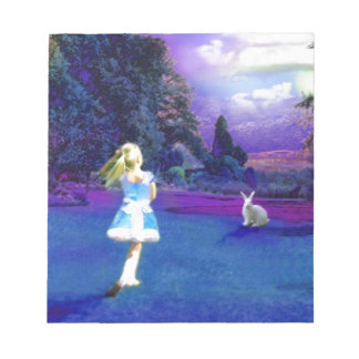 Alice in Wonderland Notepad