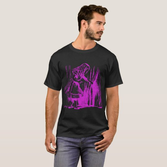 Alice in Wonderland opening curtain T-Shirt