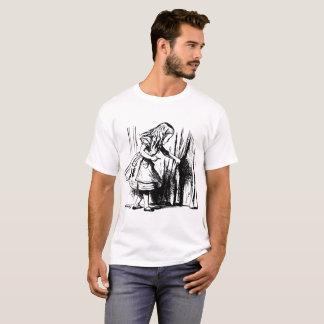 Alice in Wonderland opening curtain T-Shirt