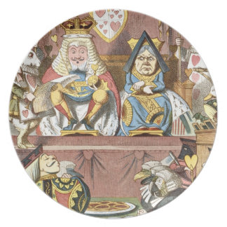 Alice in Wonderland Plate