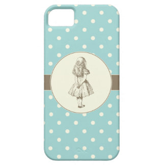 Alice in Wonderland Polka Dots Case For The iPhone 5