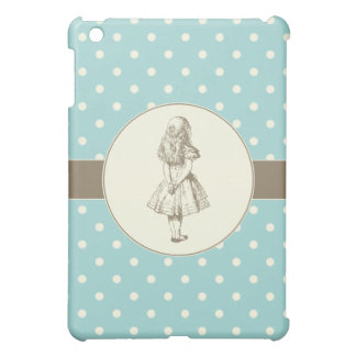 Alice in Wonderland Polka Dots Cover For The iPad Mini