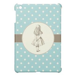 Alice in Wonderland Polka Dots Cover For The iPad Mini