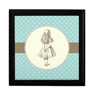 Alice in Wonderland Polka Dots Gift Box