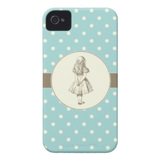 Alice in Wonderland Polka Dots iPhone 4 Case-Mate Cases