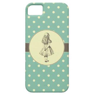 Alice in Wonderland Polka Dots iPhone 5 Cases