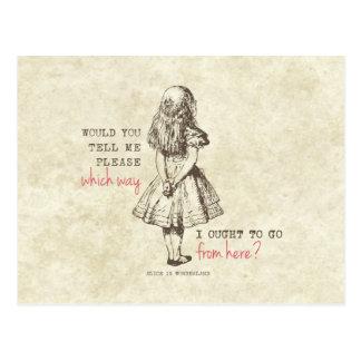 Alice in Wonderland Post Cards