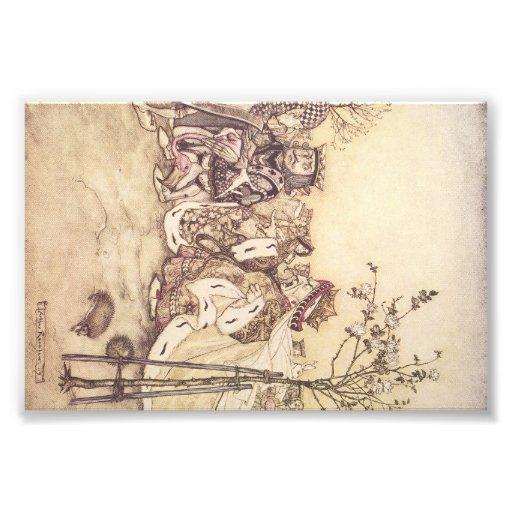 Alice in wonderland print #2 art photo