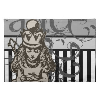 Alice In Wonderland Queen Alice Grunge Placemat