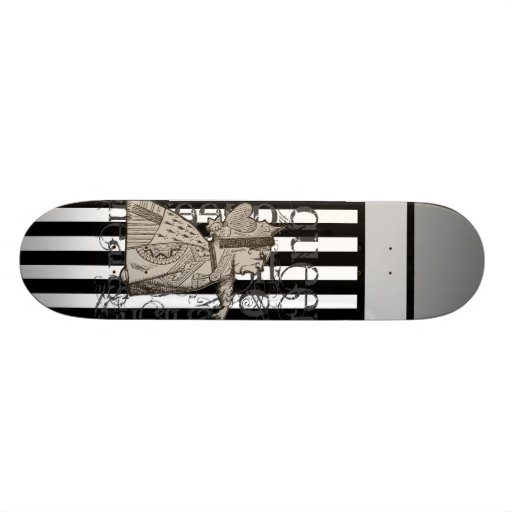 Alice In Wonderland Queen of Hearts Grunge Skate Boards