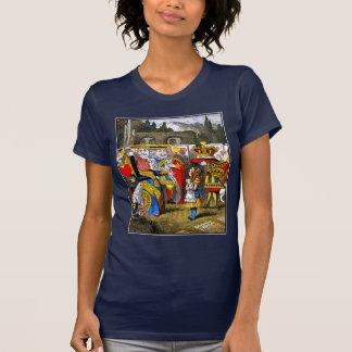 Alice in Wonderland - Queen of Hearts - Tenniel T-shirt
