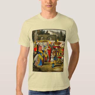 Alice in Wonderland - Queen of Hearts - Tenniel Tee Shirt