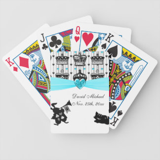 Alice In Wonderland Royal Crowns Baby Shower Bicycle Playing Cards