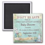 Alice in Wonderland Save The Date Baby Shower