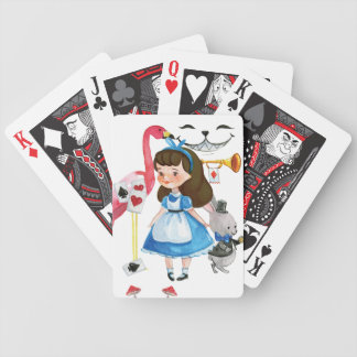 Alice in Wonderland series Bicycle Playing Cards