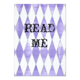 "Alice in Wonderland Shower Invite 5"" X 7"" Invitation Card"