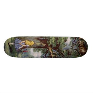 Alice in Wonderland SkakeBoard Pro Skateboards
