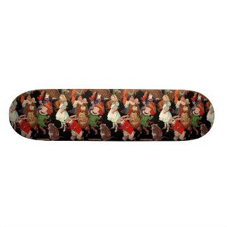 Alice in Wonderland Skateboard