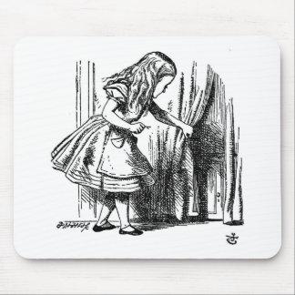 Alice in Wonderland  Small Door to Wonderland Mouse Pad