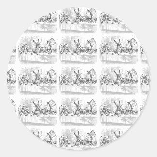 Alice in Wonderland Tea Party Stickers