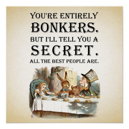 Alice In Wonderland - Tea Party - You're