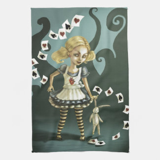 Alice in Wonderland Tea Towel