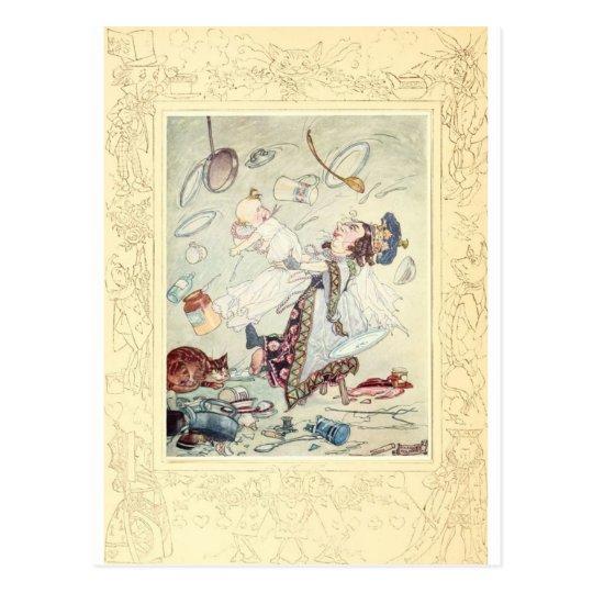 Alice in Wonderland, The Duchess, Vintage Postcard