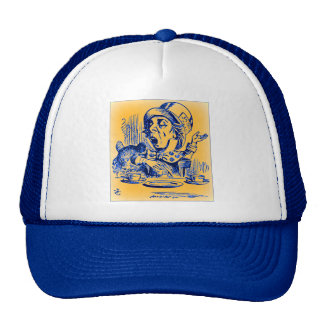 Alice in Wonderland - The Mad Hatter Mesh Hats