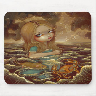 Alice in Wonderland & the Pool of Tears Mousepad