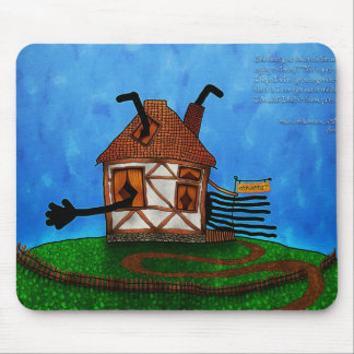Alice in Wonderland - The Rabbit's House Mouse Pad