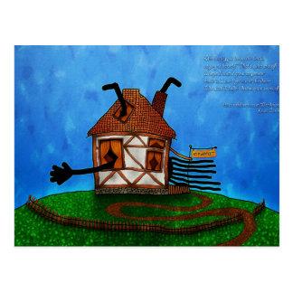 Alice in Wonderland - The Rabbit's House Postcard