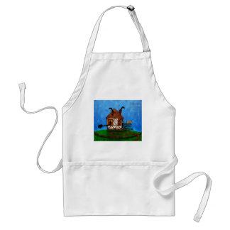 Alice in Wonderland - The Rabbit's House Standard Apron