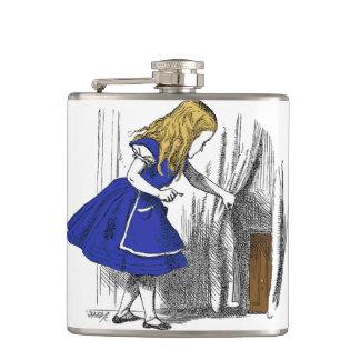 Alice in Wonderland - The Small Door Hip Flask