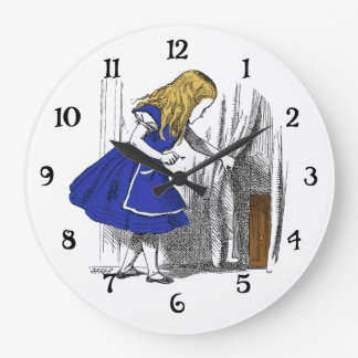 Alice in Wonderland - The Small Door Large Clock