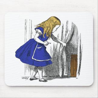 Alice in Wonderland - The Small Door Mousepad