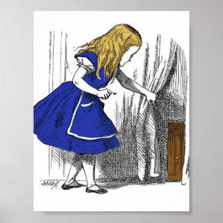 Alice in Wonderland - The Small Door Poster