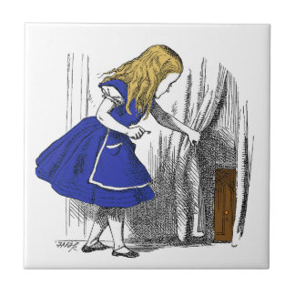 Alice in Wonderland - The Small Door Tile