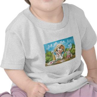 Alice in wonderland the white rabbit Gordon Bruce Tee Shirts