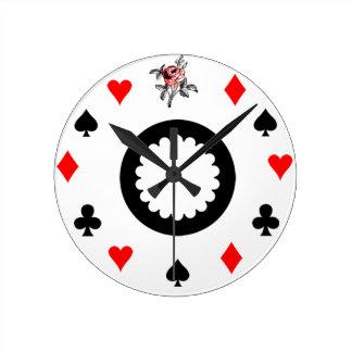 Alice in Wonderland Themed Round Clock
