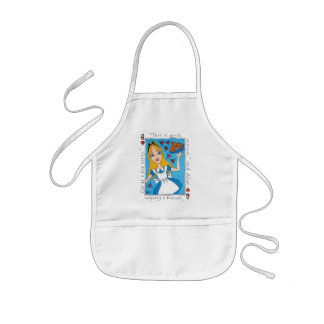 Alice In Wonderland - This Is Most Curious Kids Apron