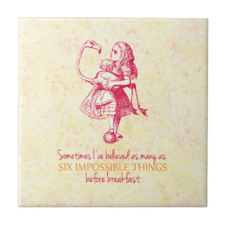 Alice in Wonderland Tile