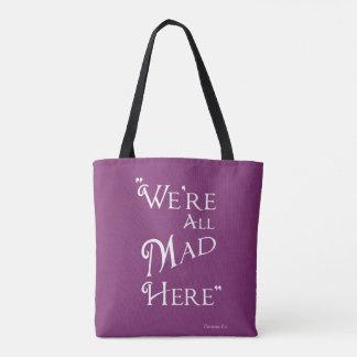 Alice in Wonderland Tote Bag - Mad