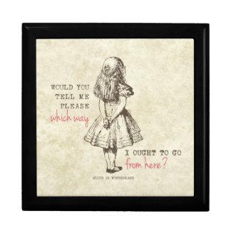 Alice in Wonderland Trinket Box