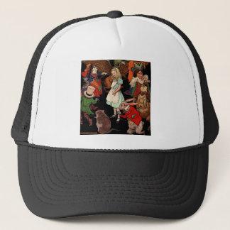Alice in Wonderland Trucker Hat