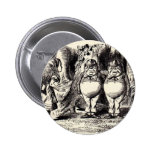 Alice in Wonderland: Twiddle Dee and Twiddle Dum Buttons