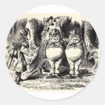 Alice in Wonderland: Twiddle Dee and Twiddle Dum Sticker