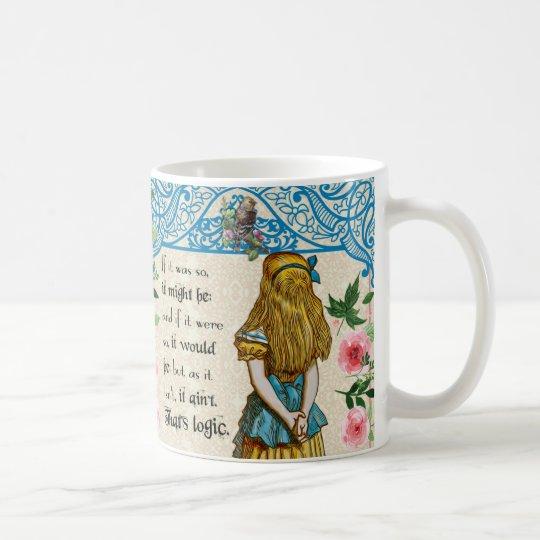 Alice In Wonderland Vintage Alice Quote Mug