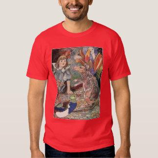 Alice in Wonderland Vintage Illustration Shirt